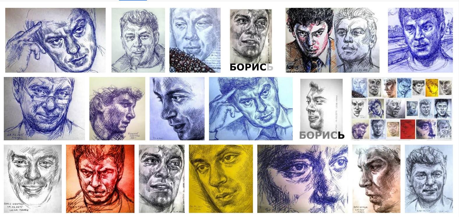 Немцов, Арт марафон памяти Немцова